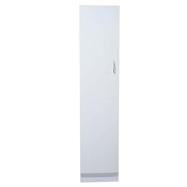 White Melamine 1 Door Pantry/Linen Cupboard